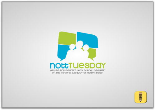 Nott Tuesday 99Design logo comp design 1
