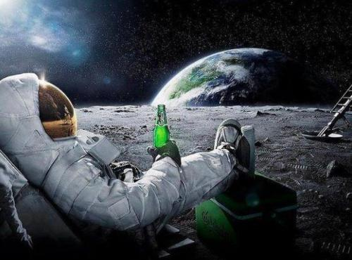 Beer from space